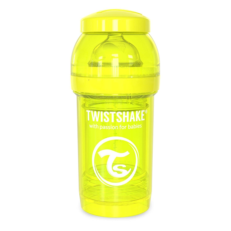 180 ml Twistshake 7350083120397 Anti-Colic Babyflasche gelb