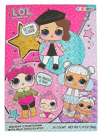 Amazon Com L O L Surprise Dolls Christmas Holiday Countdown
