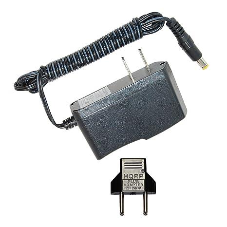 HQRP Adaptador de CA para Panasonic EW31095K Reemplazo; EW3109W Monitor de tensión arterial / Tensiómetro