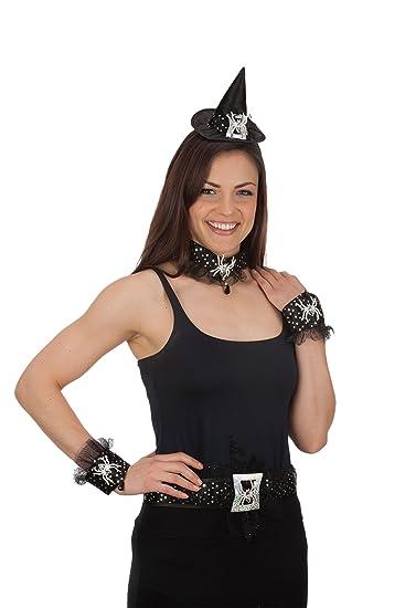 Jacobson Hat Company Womenu0027s Spider Costume Set Black Adult  sc 1 st  Amazon.com & Amazon.com: Jacobson Hat Company Womenu0027s Spider Costume Set Black ...