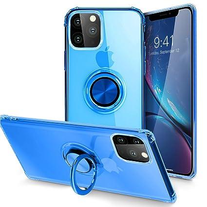 Amazon.com: Carcasa para iPhone XI 2019, cuerpo transparente ...