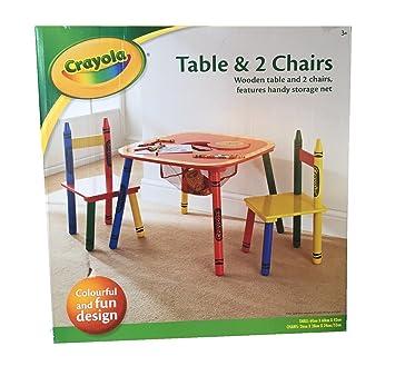 Crayola Kinder Kleinkinder Set Tisch & Stühle Schlafzimmer Möbel ...
