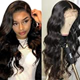 Lace Front Wigs Human Hair for Black Women 150% Density 9A Brazilian 13×4 Viennois Body Wave Human Hair Lace Front Wigs Pre P