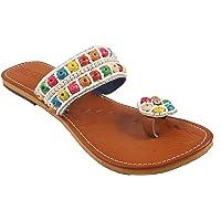 Shree Rajasthani Jaipuri Partywear Ethnic Womens Girls Ladies Slipper