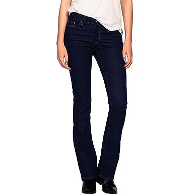 d58dd35e681 Ellos Women s Plus Size Bootcut Jeans at Amazon Women s Clothing store
