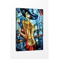 TabloCenter ART327133739-5070 Dekoratif Kanvas Tablo, 50 x 70 cm