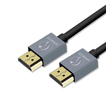 Cables HDMI LinkinPerk, Cable HDMI de Alta Velocidad Ultra con Ethernet HDMI 2.0, Profesional