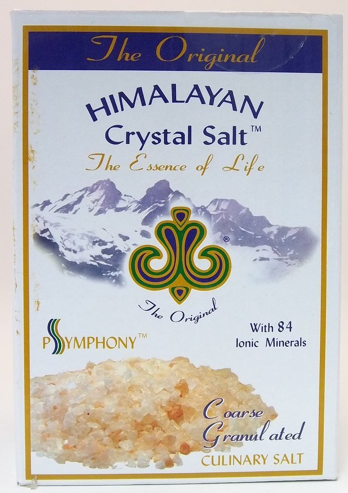 Himalayan Crystal Salt Coarse Granulated Original Himalayan 1000 g Salt
