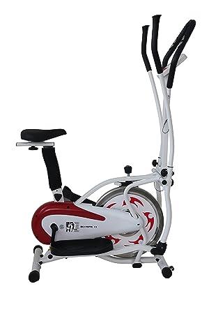 Olympic ES-913D 2-in-1 - Elíptica de Fitness, Color Verde, Talla n.a: Amazon.es: Deportes y aire libre