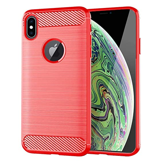 new arrival d0f33 4ee58 Moment Dextrad for iPhone Xs Max Case,Anti-Fingerprint Protective Bumper  Soft TPU Cover with Shock-Absorption and Carbon Fiber Case Design for  iPhone ...