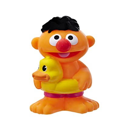 Sesame Street Ernie in Bathtub with RUBBER DUCKY Lightweight Beach Towel