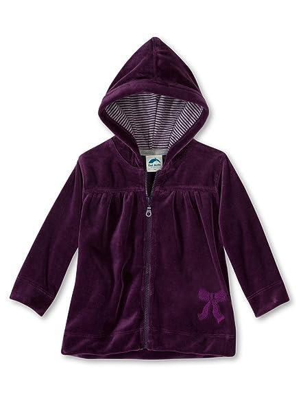 Sanetta - Abrigo para niña violeta de 80% algodón 20% poliéster, talla: