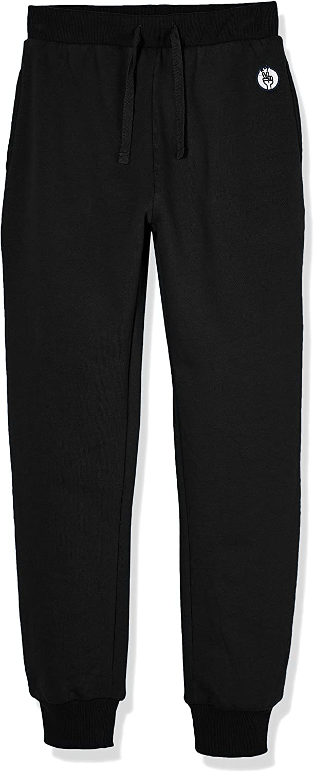 Kid Nation Kids' Soft Brushed Fleece Casual Pull On Jogger Sweatpant With Pockets For Boys Or Girls by Kid Nation