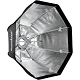 "Andoer Godox SB-UE 80cm/31,5"" - Softbox portatile ottagonale con staffa Bowens per Speedlite"