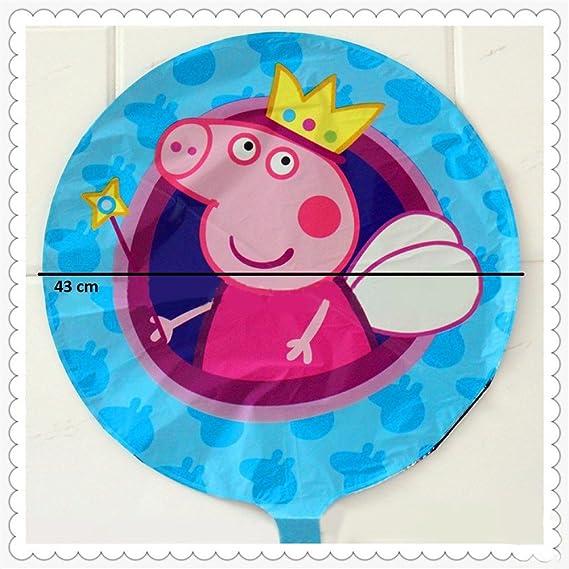 Peppa Pig-Balón mismo delanteras y traseras imagen (5 unidades ...