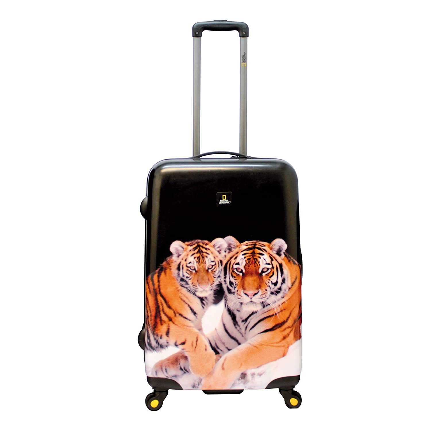 National Geographic Nature of Love Tiger Maleta a 4 Ruedas 68 cm: Amazon.es: Equipaje