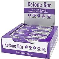 Barra De Cetonas (Caja De 12 Barras) | Snack Bar Ketogénico | Contiene C8 MCT Aceite Puro | Paleo & Keto | Sin Gluten…