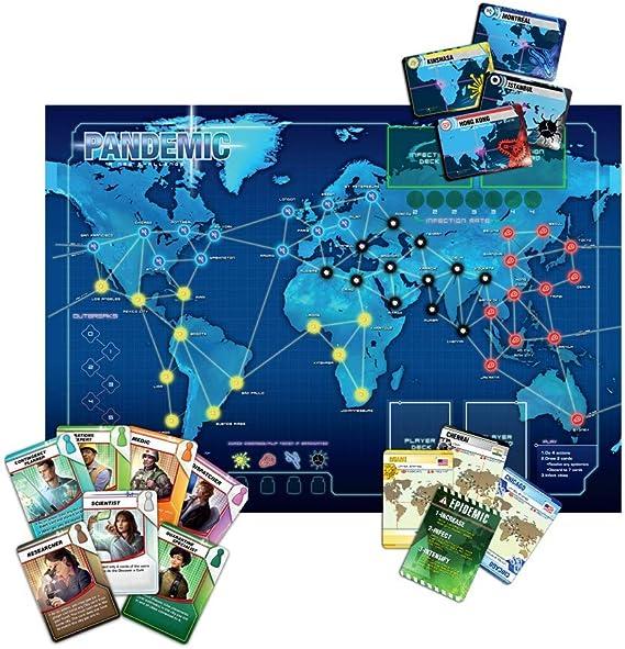 Z-Man Games Pandemic ZMG 71100, Juego de mesa de estrategia ...