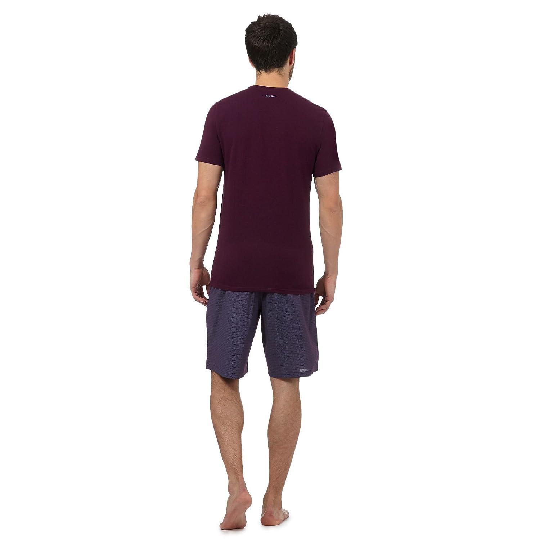 Calvin Klein - Pijama - para Hombre Morado Morado Small: Amazon.es: Ropa y accesorios