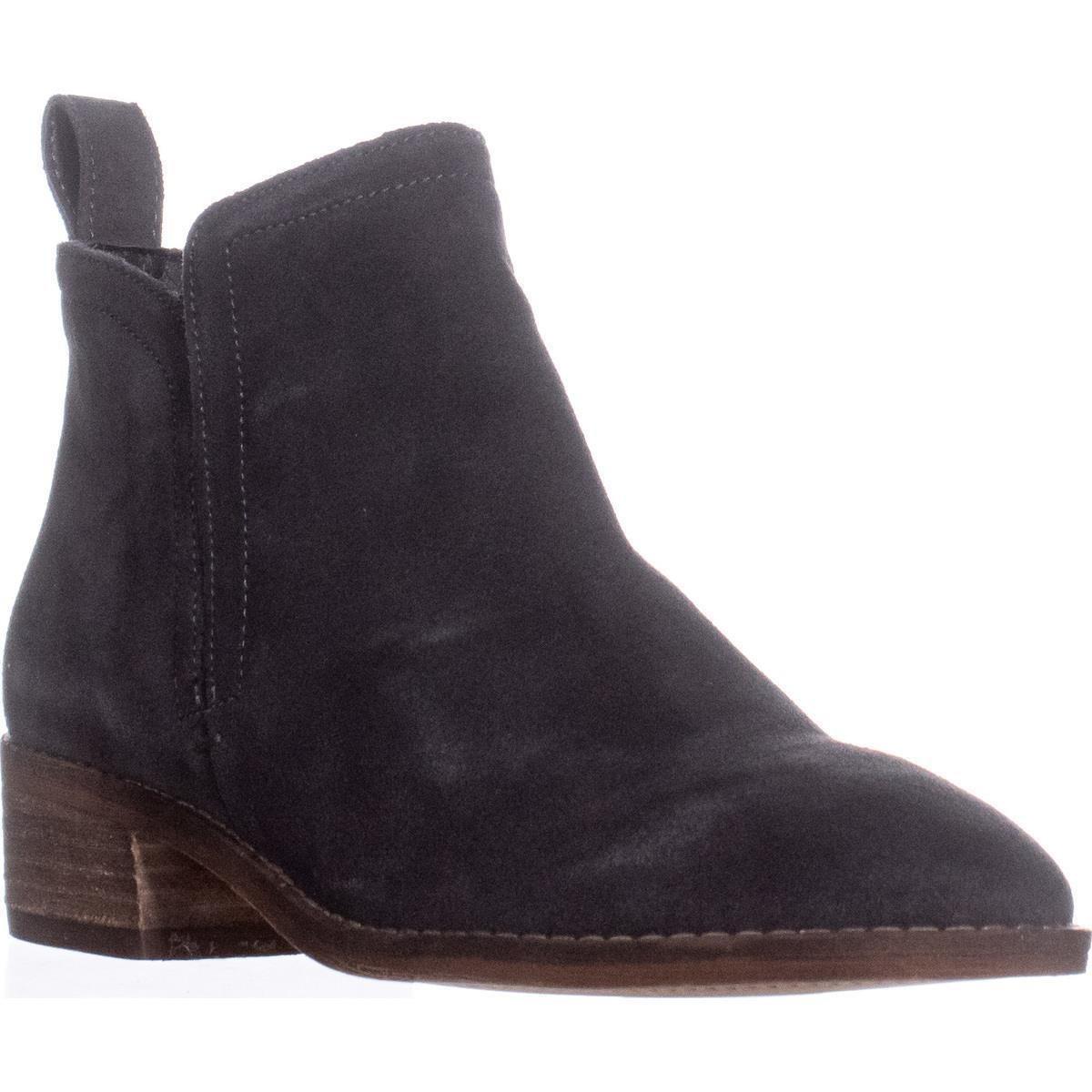 Dolce Vita Women's Tessey Boot B01D2SNIOG 11 B(M) US|Anthracite Suede