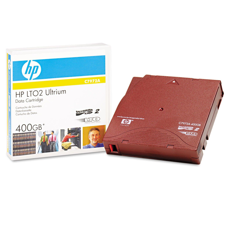 HPE Storage BTO C7972A LTO2 Ultrium 400GB Data Cartri Hewlett Packard