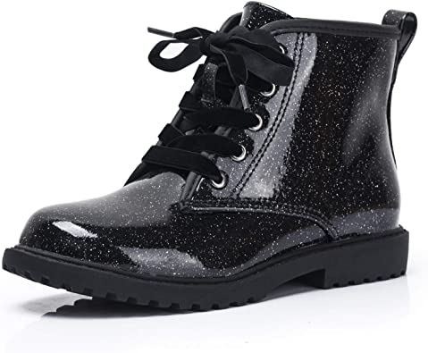 FITORY Girls Glitter Ankle Boots, Lace
