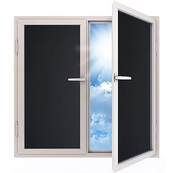 rabbitgoo Fensterfolie Blickdicht Sichtschutzfolie selbstklebend ...