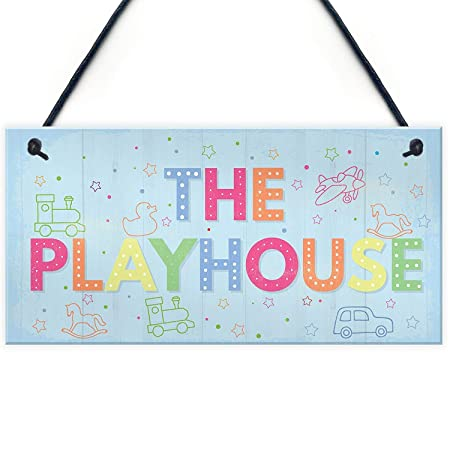 Childs Playhouse Hanging Door Wall on Daughter Birthday ...