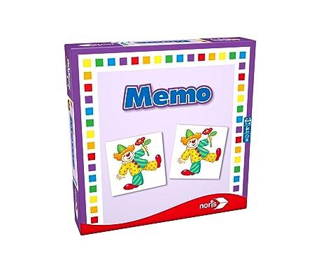 Noris 608985665 - Memo, Reise- und Mitbringspiel