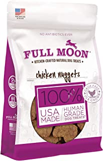 product image for Full Moon All Natural Human Grade Chicken Nugget Dog Treats