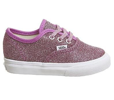 76c242ae41001e Vans Boys   Td Authentic Elastic Lace Walking Baby Shoes  Amazon.co ...