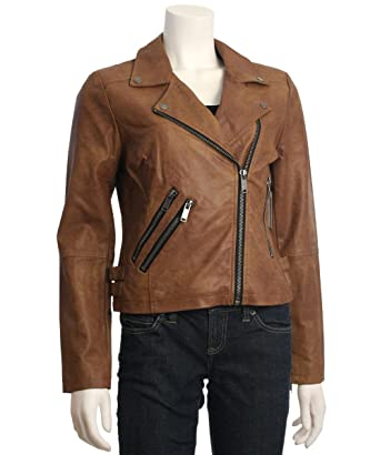 Latte Black Faux Leather Moto Jacket at Amazon Women s Coats Shop 58976a9a1e