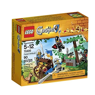 LEGO Castle Forest Ambush 70400: Toys & Games