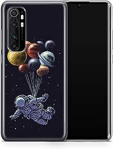 Covery Cases Silicon Back Cover For Xiaomi Mi Note 10 Lite - Multi Color , 2725609605569