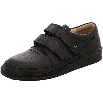 Finn Comfort - Zapatillas de estar por casa de cuero para hombre: Amazon.es: Zapatos y complementos