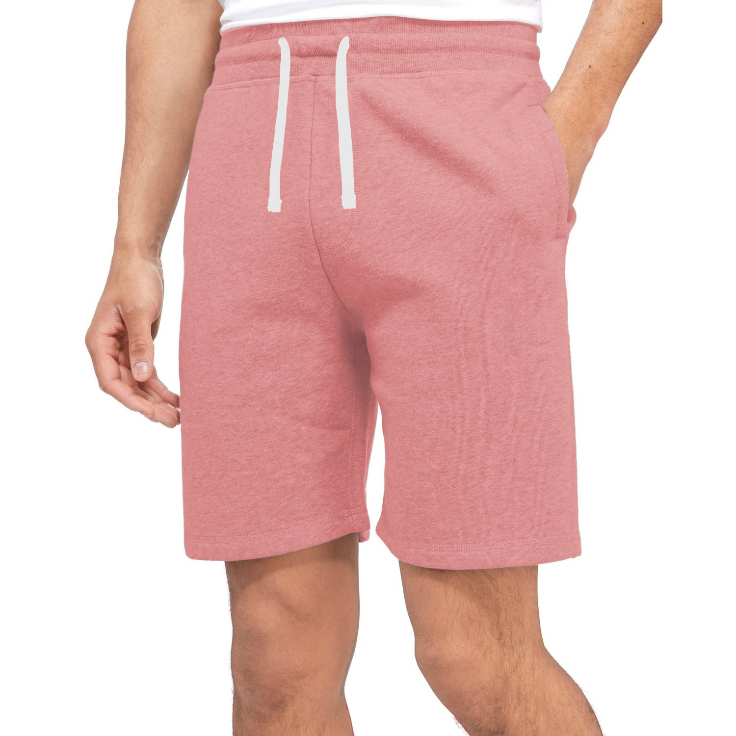 Brave Soul Mens Sweat Comfy Summer Fleece Jersey Baggy Jogging Shorts S-XL