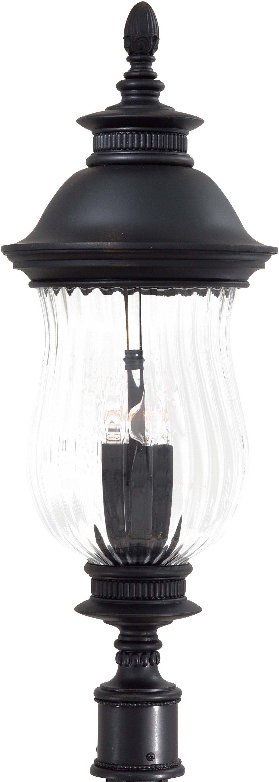 Minka Lavery Outdoor 8906-94, Newport Cast Aluminum Outdoor Post Lighting, 160 Total Watts, Heritage