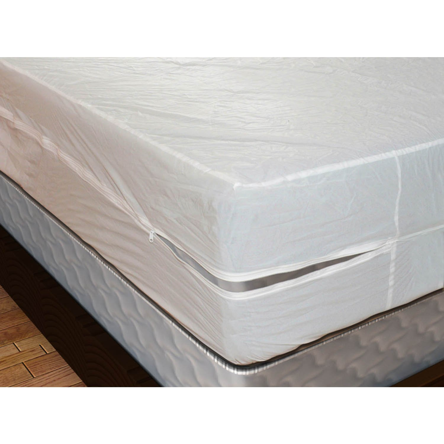 Shop Bedding Royal Mystique Vinyl Zippered Mattress Cover (Twin, 16