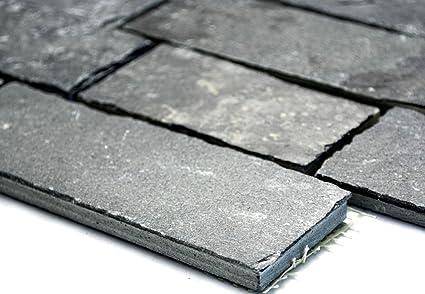 Lampada a mosaico mosaico piastrelle brick antracite black jack di