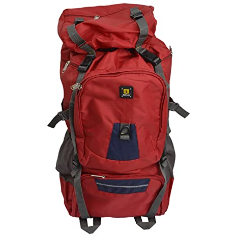 Buy Season 90 Liters Red Grey Rucksack At Amazon In