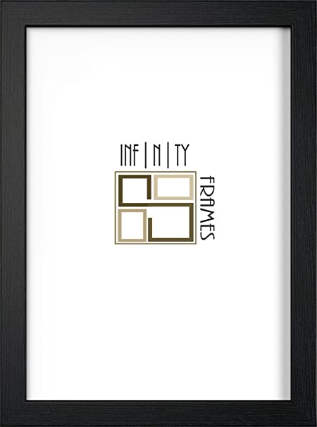 Black Photo Frame Picture Frame Poster Wooden Effect (36x24 Inches ...