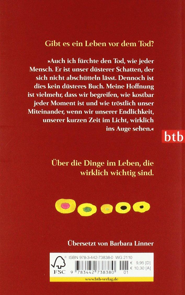 In die Sonne schauen: Wie man die Angst vor dem Tod überwindet Taschenbuch – 13. September 2010 Irvin D. Yalom Barbara Linner btb Verlag 3442738385
