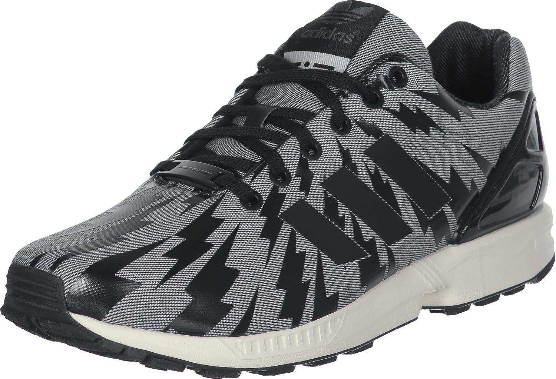 100% originales conseguir baratas fábrica auténtica adidas - ZX Flux Shoes - Black - 4.5: Amazon.co.uk: Shoes & Bags