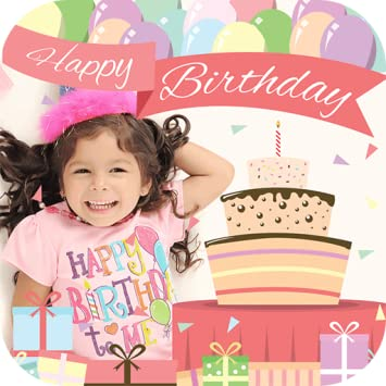 Birthday Photo Frames Editor