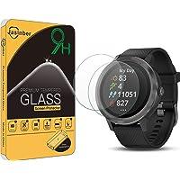 Jasinber [2-Pack] Mica Cristal Templado Protector de Pantalla para Garmin vívoactive 3 GPS SmartWatch, No para Vivoactive 3 Music