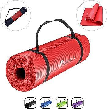 Wantek Sac de Yoga Portable Noir pour Pilates