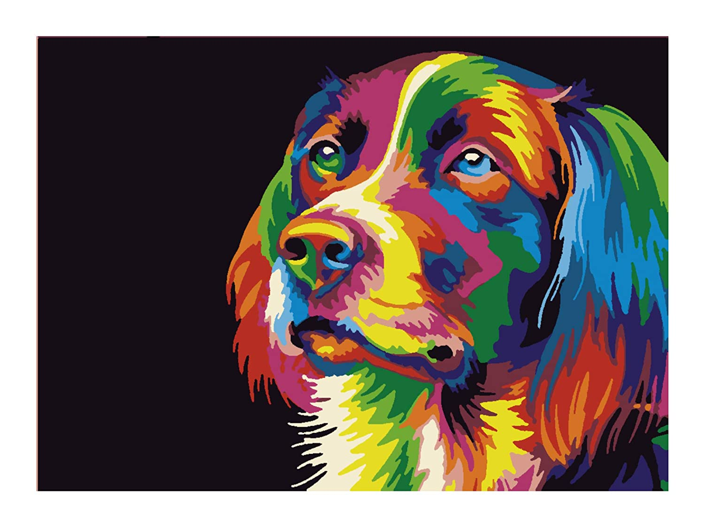 Printable Wall Art with an adorable Dog.