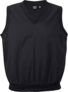 product image for Akwa Made in USA Men's Microfiber Water Repellent V-Neck Pullover Golf Vest