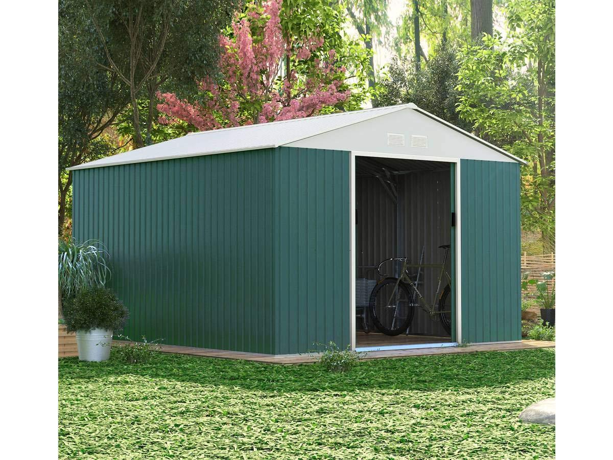 Qualité supérieure 59969 86864 Habitat et Jardin - Abri de Jardin métal Rosas - 10,85 m²