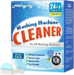 Homysky Washing Machine Cleaner Tablets, Washer Deep Cleaning Tablet, for Front